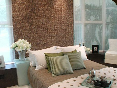 """Decorative Wall Tiles For Living Room Mesmerizing Coco"""" Tileskirei Decorative Wall Tile Made From Coconut Inspiration"""