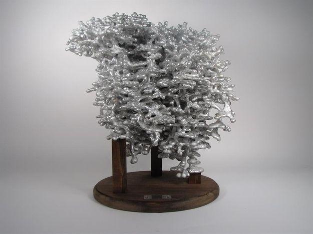 009 - Aluminum Fire Ant Colony Casting | Art | Ant colony