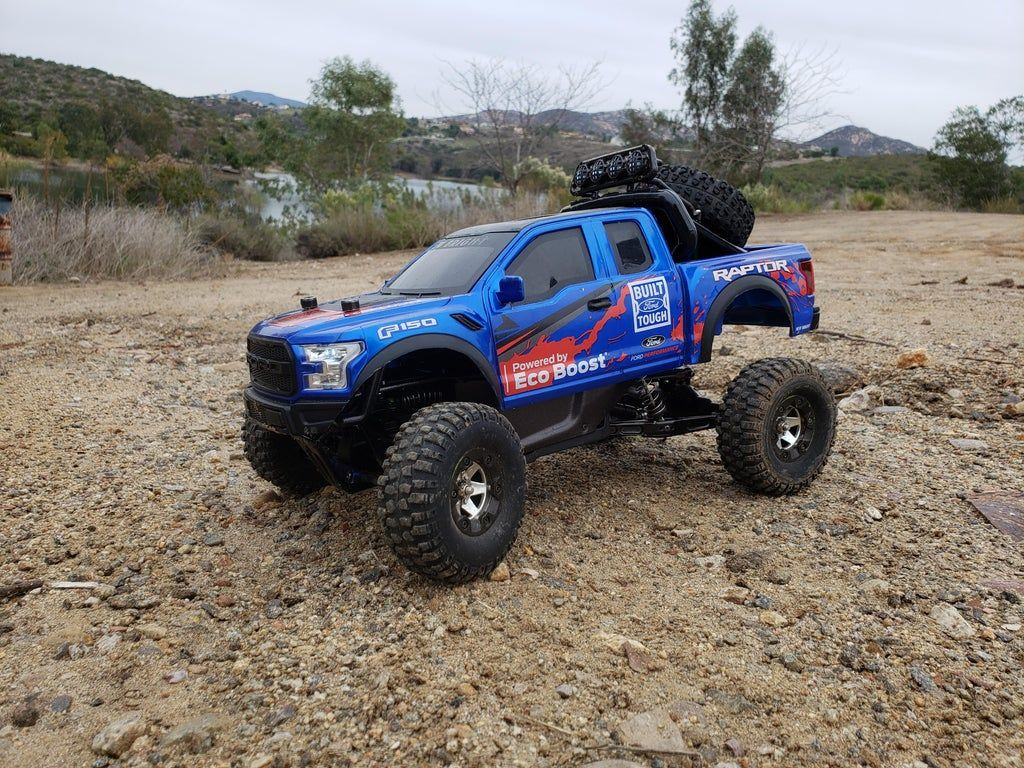 New Bright F 150 Ford Raptor Body On Wltoys 12428 Rccars Ford Raptor Raptor Ford