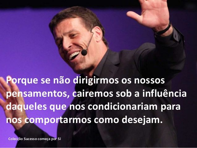 Anthony Robbins Frases De Sucesso Ii Anthony Robbins