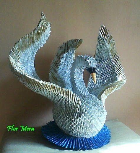 Imagenes de cisnes de papel - Imagui