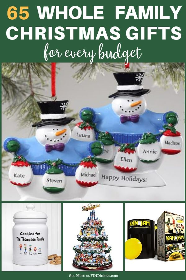 Best Family Gift Ideas for Christmas - Fun Gifts the Whole Family