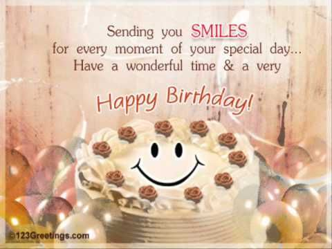 Belated Birthday Wishes For Brother In Law ~ Happy birthday sister you tube link very cute! i hope you have a