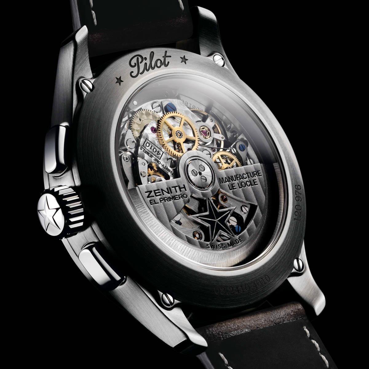 c8c1e888271 TimeZone   Industry News » N E W M o d e l - Zenith Pilot Big Date Special