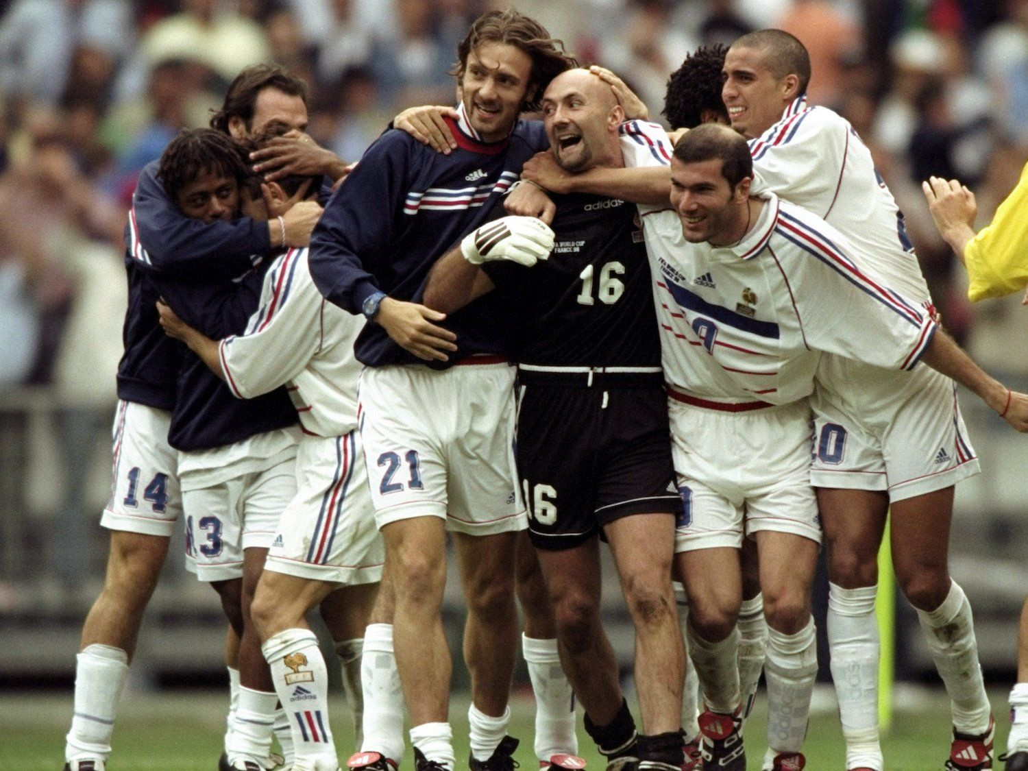 Where Are They Now The 1998 World Cup Winning France Team Business Insider France Team 1998 World Cup World Cup