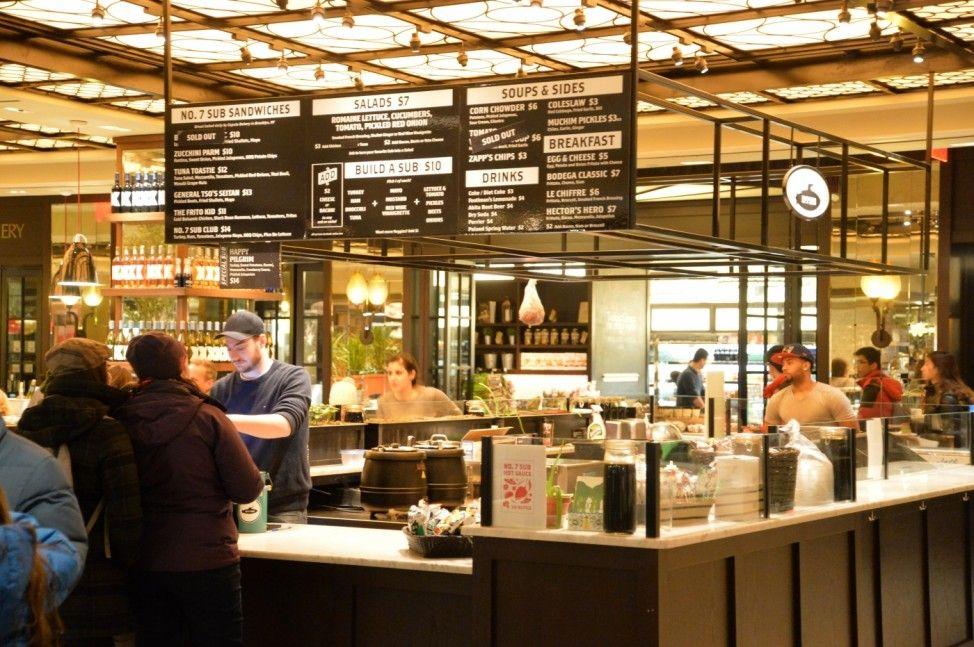 The Plaza Food HallThe Plaza Hotel New York Restaurants
