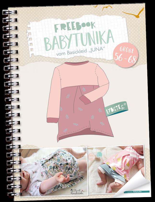 "Photo of FREEBOOK: Baby Tunika ""Juna"" (Gr. 56 – 68) – Lybstes."