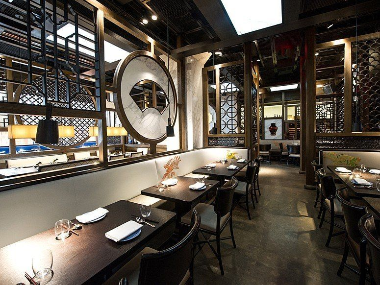 New York Restaurants What S For Dinner At Hakkasan Conde Nast Traveler Restaurant Interior Design Chinese Restaurant Modern Restaurant