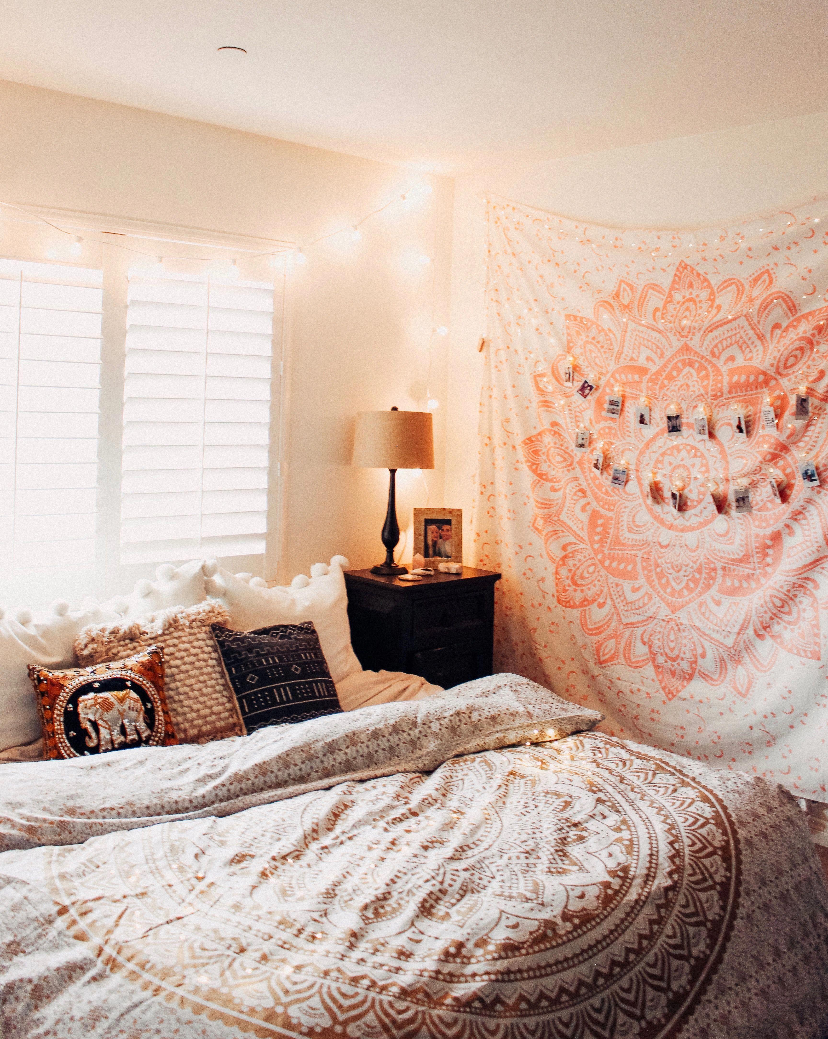 shabby chic möbel boho style schlafzimmer einrichtung bett
