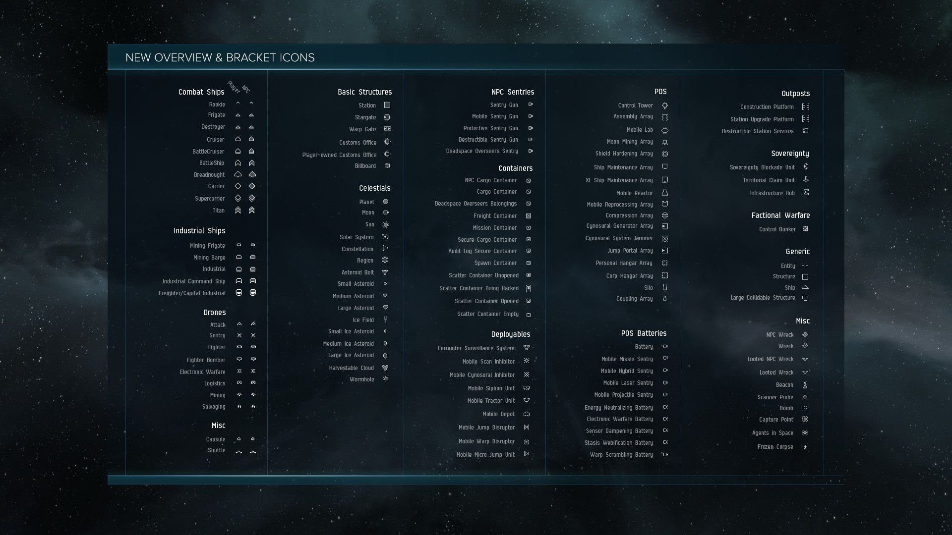 eve online overview icons [ 1920 x 1080 Pixel ]