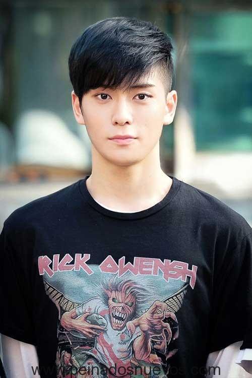 Cortes de cabello de hombres asiaticos