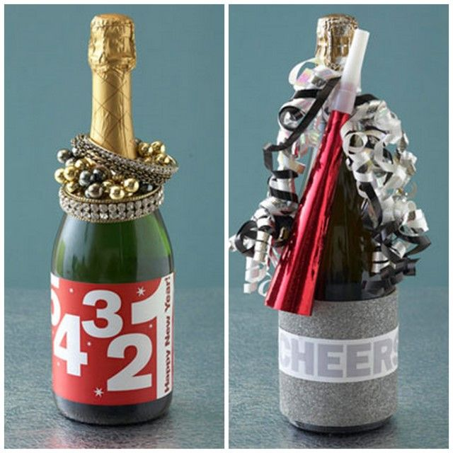 Christmas Party Hostess Gift Ideas Part - 30: New Years Eve Wine Label Printables And Hostess Gift Ideas