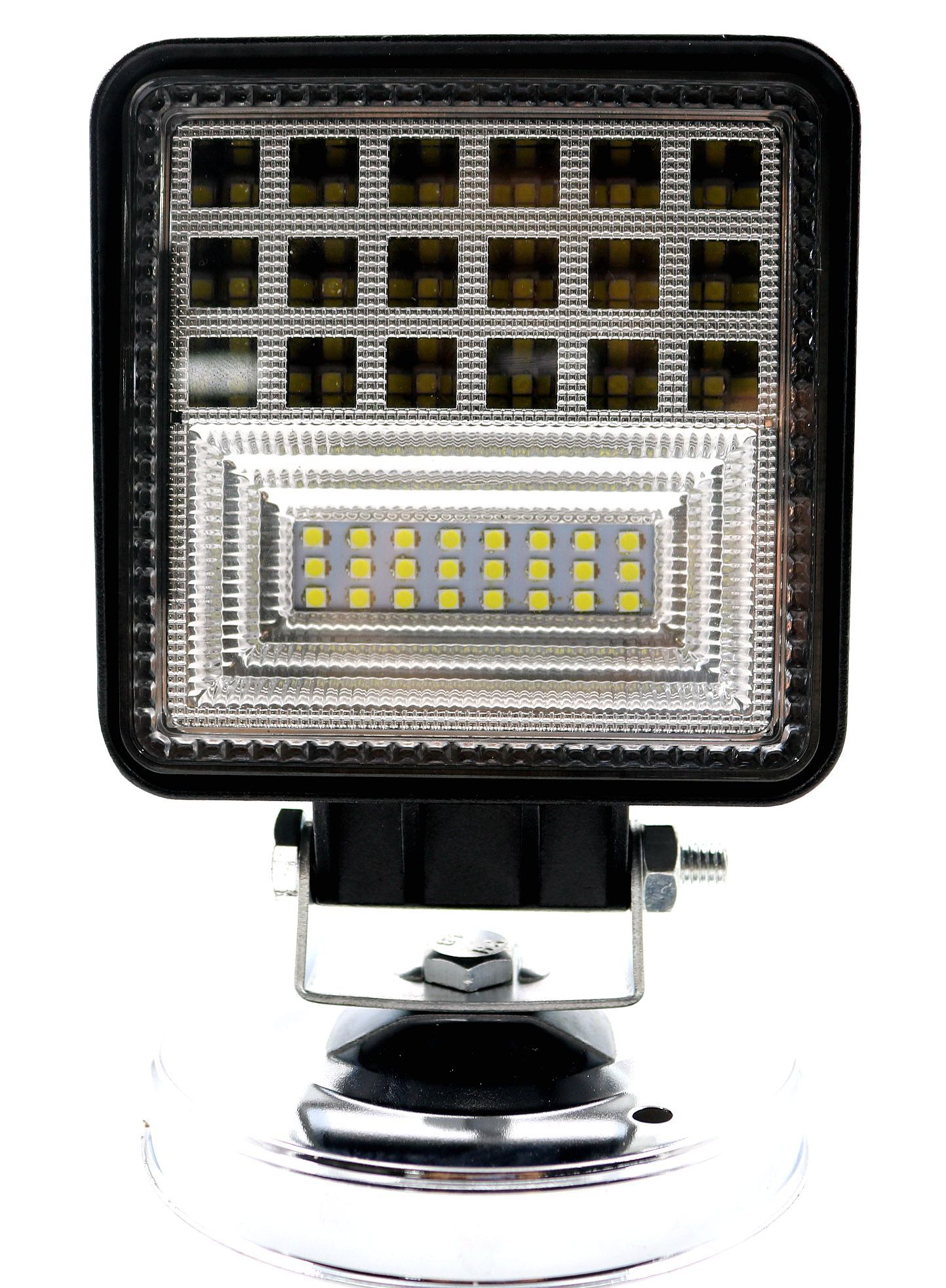 Wholesale 4 5 Inch 126w Square Led Work Light Car Auto Led Headlight Atv Tractor Truck Motorcycle Headlamp