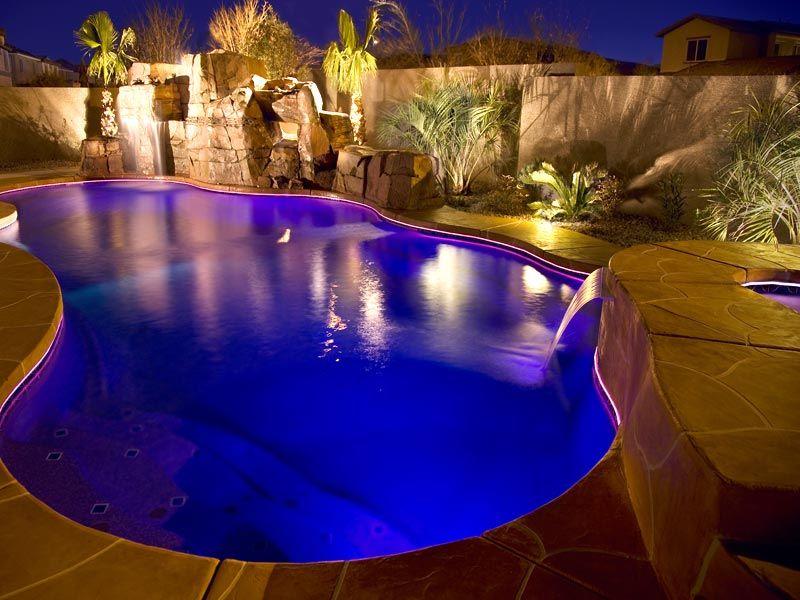 inground pools at night. inground pool pools at night o