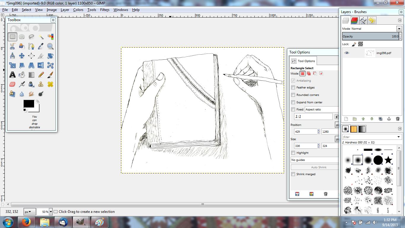 How To Color In A Drawing Using Gimp Gimp Gimp Photo Editing Gimp Tutorial
