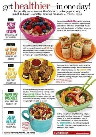 Get Healthier In One Day💪☝️ #Health #Fitness #Trusper... - Meal plan -