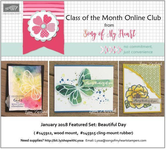 Class Of The Month Beautiful Day Plus Bonus Pdf Instant Digital