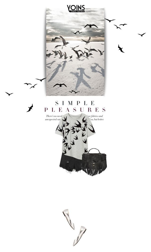 """""""Yoins #14"""" by kitti-takacs ❤ liked on Polyvore featuring Proenza Schouler, women's clothing, women's fashion, women, female, woman, misses and juniors"""