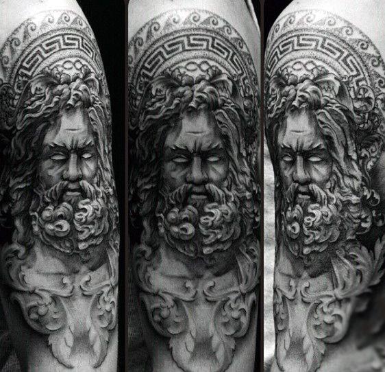 80 Zeus Tattoo Designs For Men A Thunderbolt Of Ideas Tattoob