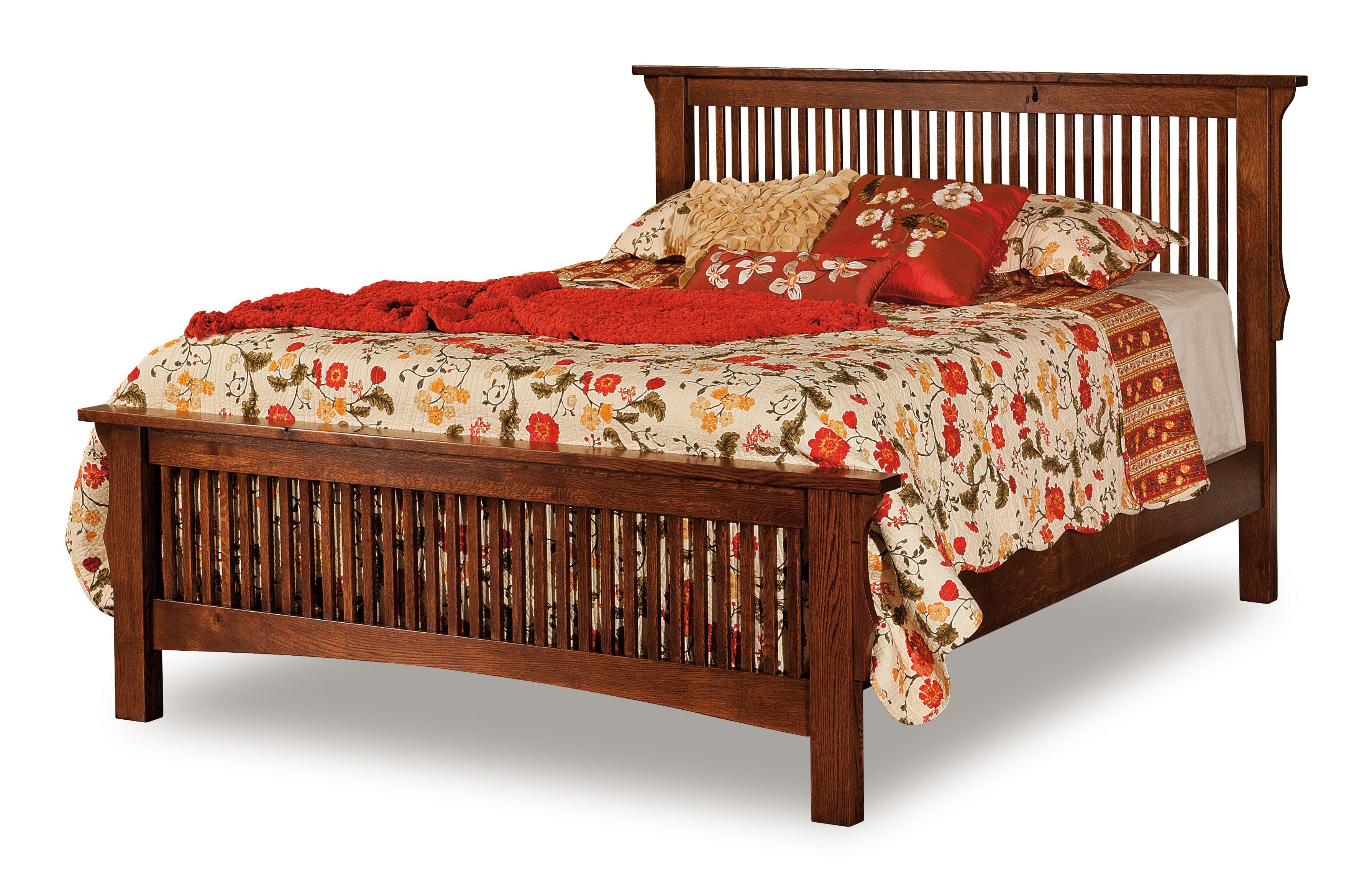 Stick Mission Bed Furniture Craftsman Bed Frames Mission Style