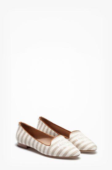 6e16b9fa04c SLIPPER TEJIDO - Zapato plano - Zapatos - WOMEN - España Massimo Dutti