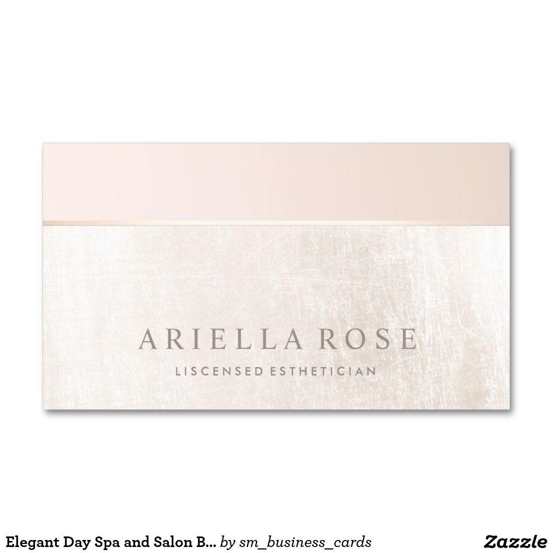 Elegant day spa and salon blush pink white marble double sided elegant day spa and salon blush pink white marble double sided standard business cards magicingreecefo Choice Image