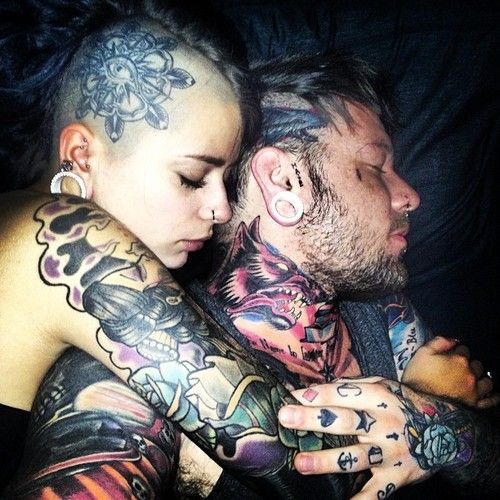 91099dff625e7 tattooed guys | T #BodyCandy | Inked couples