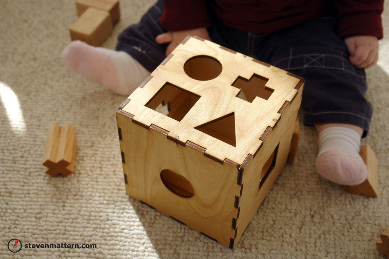 Shape Toy - Birch Plywood & Maple | Ideias, Artesanato