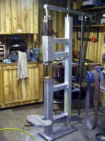 how to build a blacksmith shop