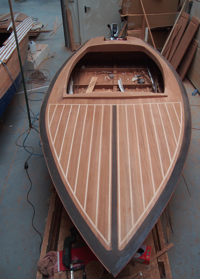 Classic Wooden Boat Plans Banshee 14 Runabout