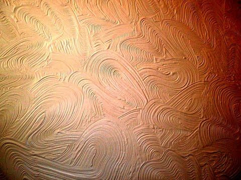 Make Swirl Scroll Stipple Wall Texture Artex Mud Pattern YouTube