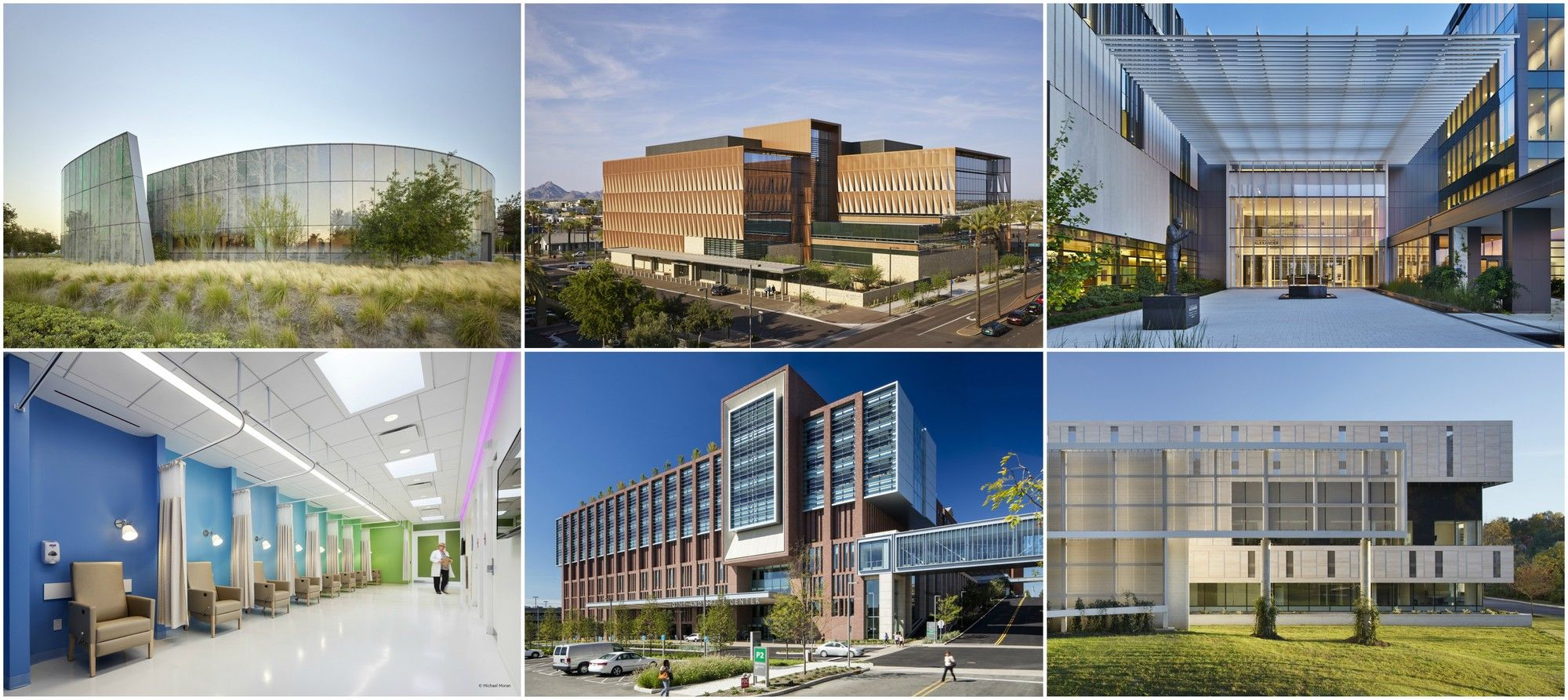 Health care center architecture projects