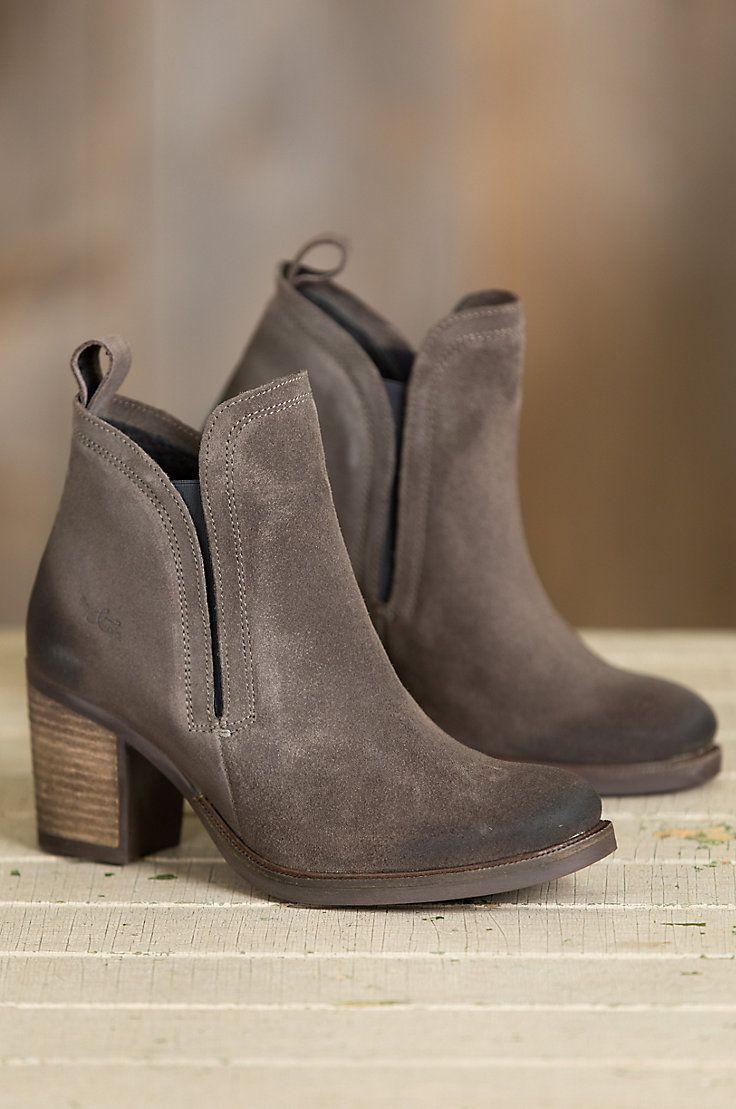 Women's Bos & Co Belfield Waterproof Suede Short Boots