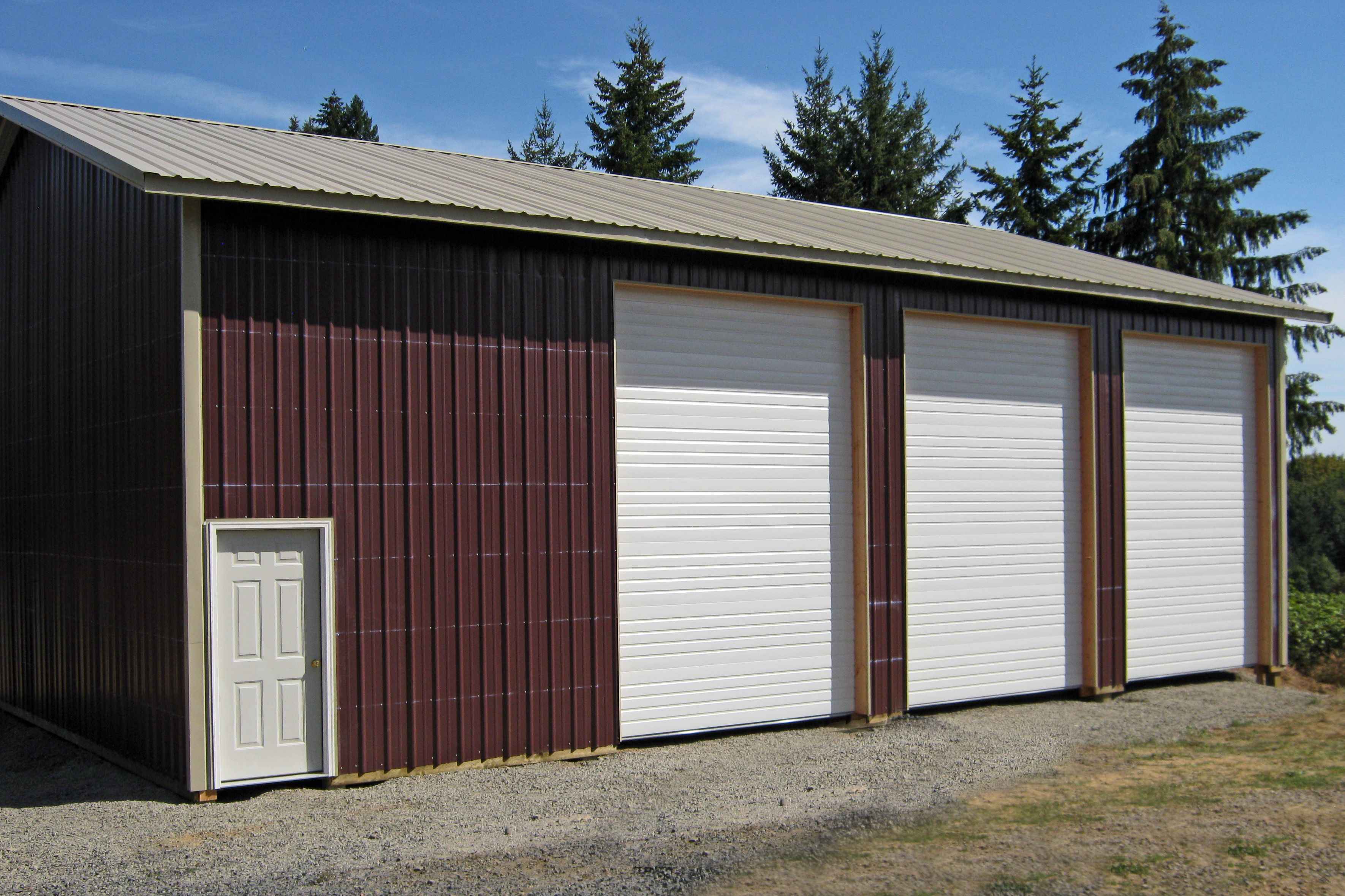 36 X 48 X 16 Residential Pole Building Www