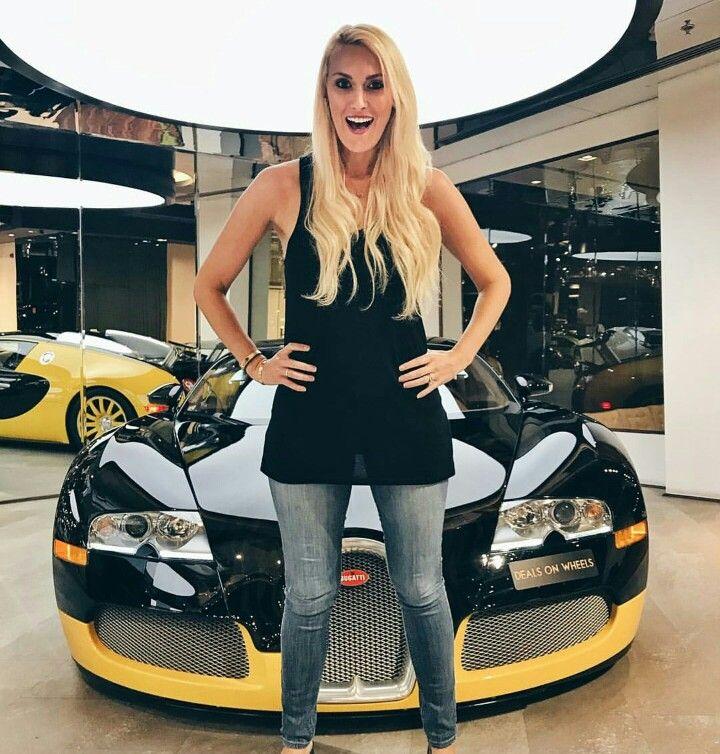 Supercarblondie Alex And Bigbug Bugatti Autos Chicas