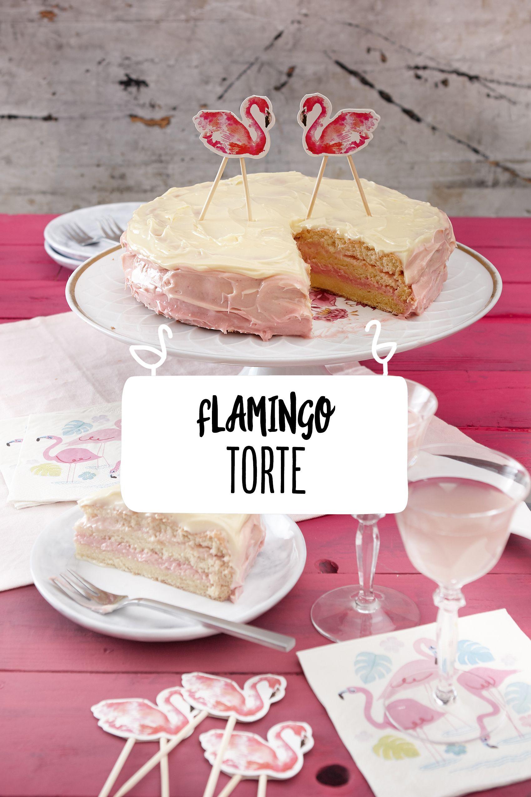 Flamingo Torte Rezept In 2019 Hochzeitstorten Mehr Pinterest