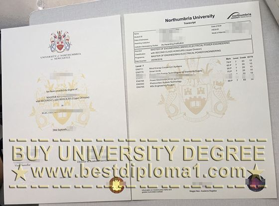 Northumbria University Fake Degree And Transcript Http Www