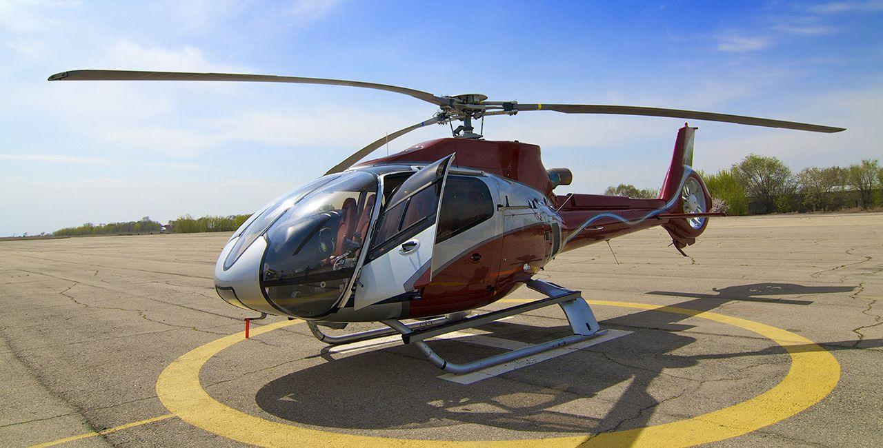 Helikopter über Köln