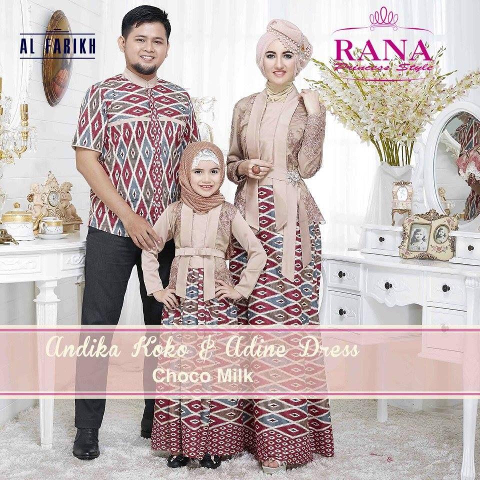 Adine Dress Model Gamis Kebaya Untuk Pesta Kombinasi Batik  Baju
