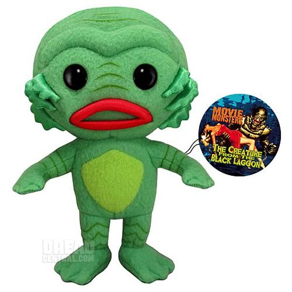 Creature From The Black Lagoon stuffed plush.