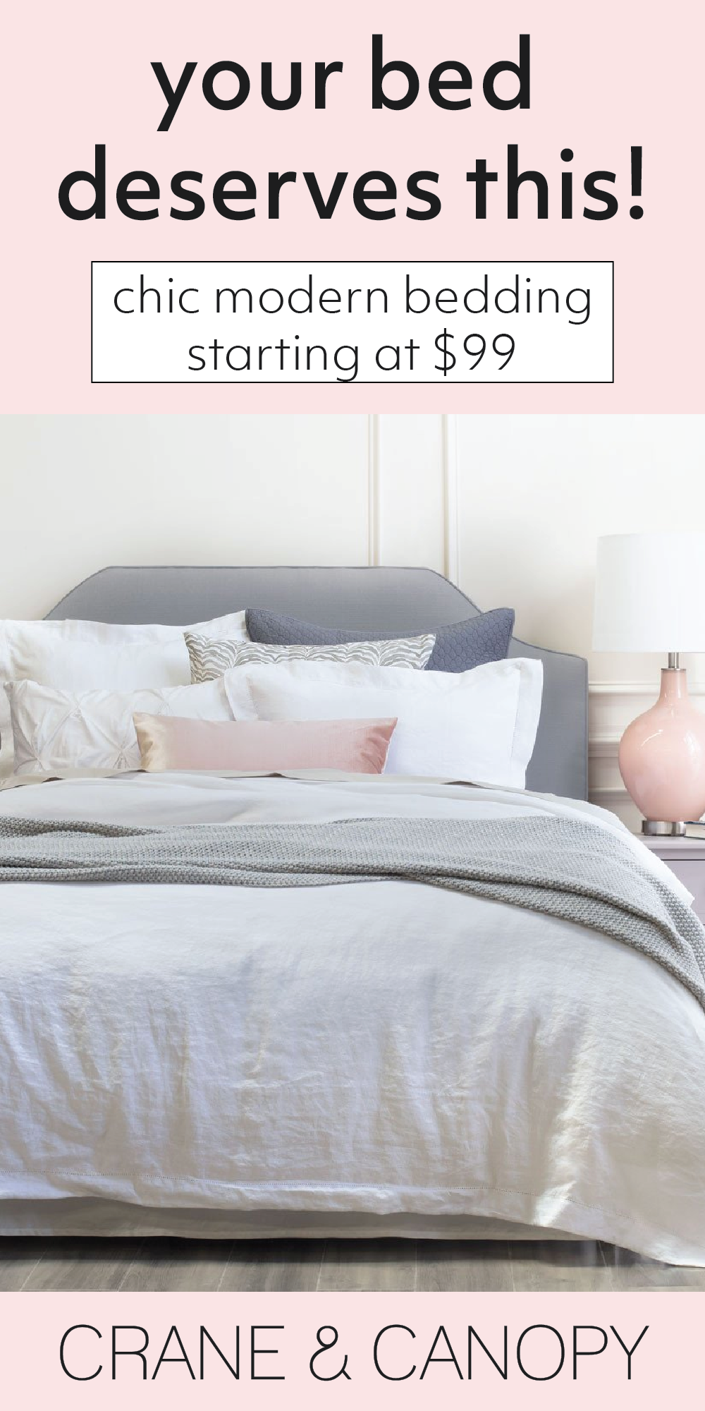 From chic bedding and beautiful statement duvet covers, find gorgeous bedding to build the bedroom of your dreams. Named the best site for bedding by HGTV. #gardendesign #modernhousedesign