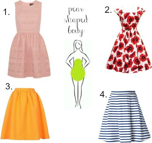 The Best Skirt Style For Your Body Shape