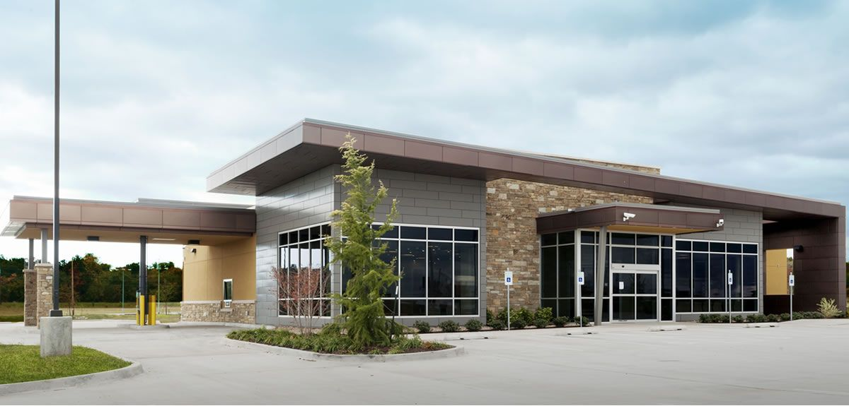 Sovereign Clinic Exterior Healthcare architecture