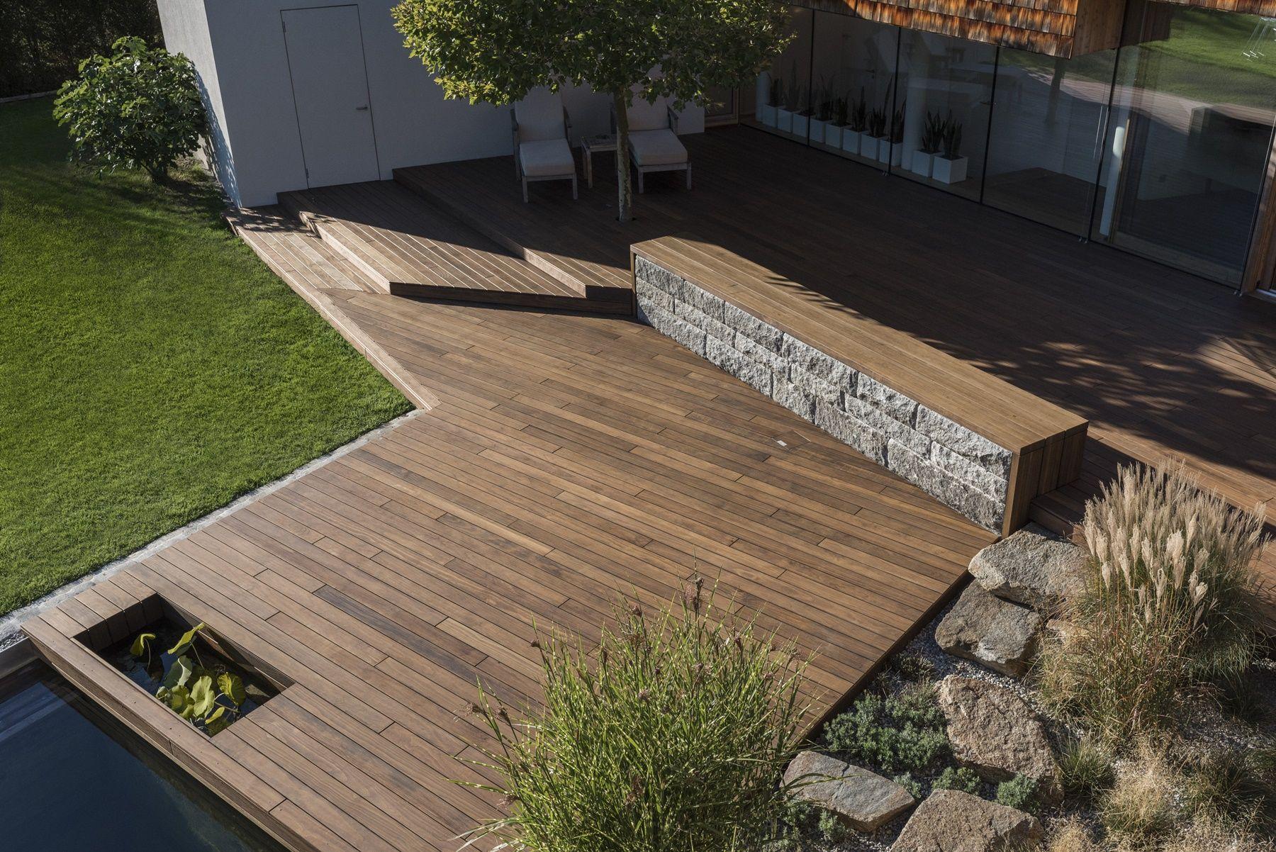 Photo of – Oplevelsen af terrassen vil være forskellige baseret på hvilken belægning d…