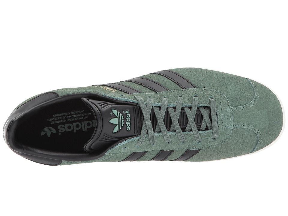 adidas Originals Gazelle Men's Classic Shoes Trace Green