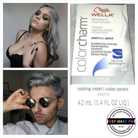 Always Wanted To Have Silver Hair Wella Color Charm Cooling