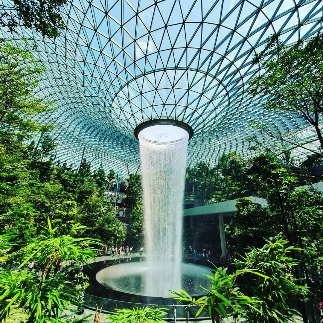 Artistry And Nature Intertwines Location Jewel Changi Airport Singapore Photography Arti In 2020 Changi Airport Singapore Singapore Travel Malaysia Travel