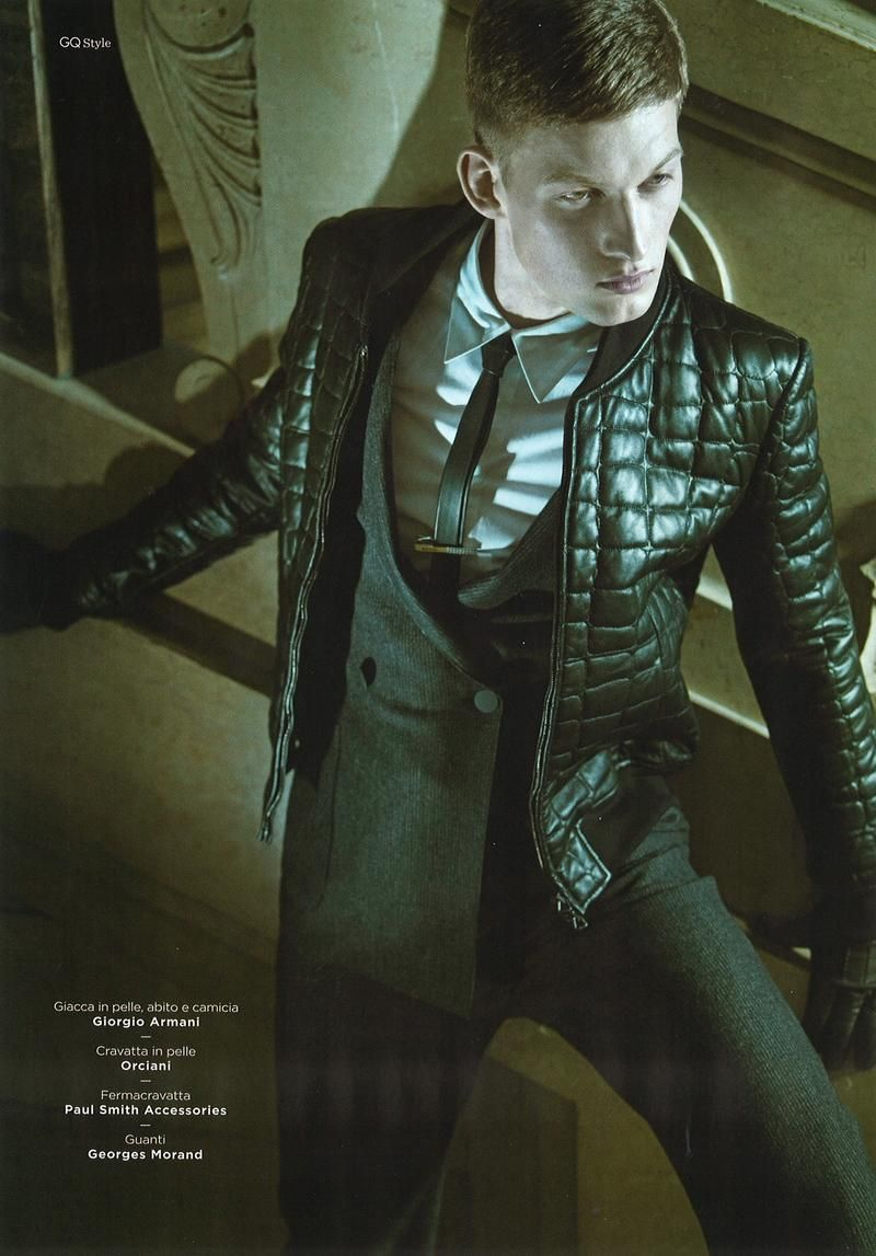Bastian Thiery by Kostas Avgulis for GQ Style Italy Fall/Winter 2012