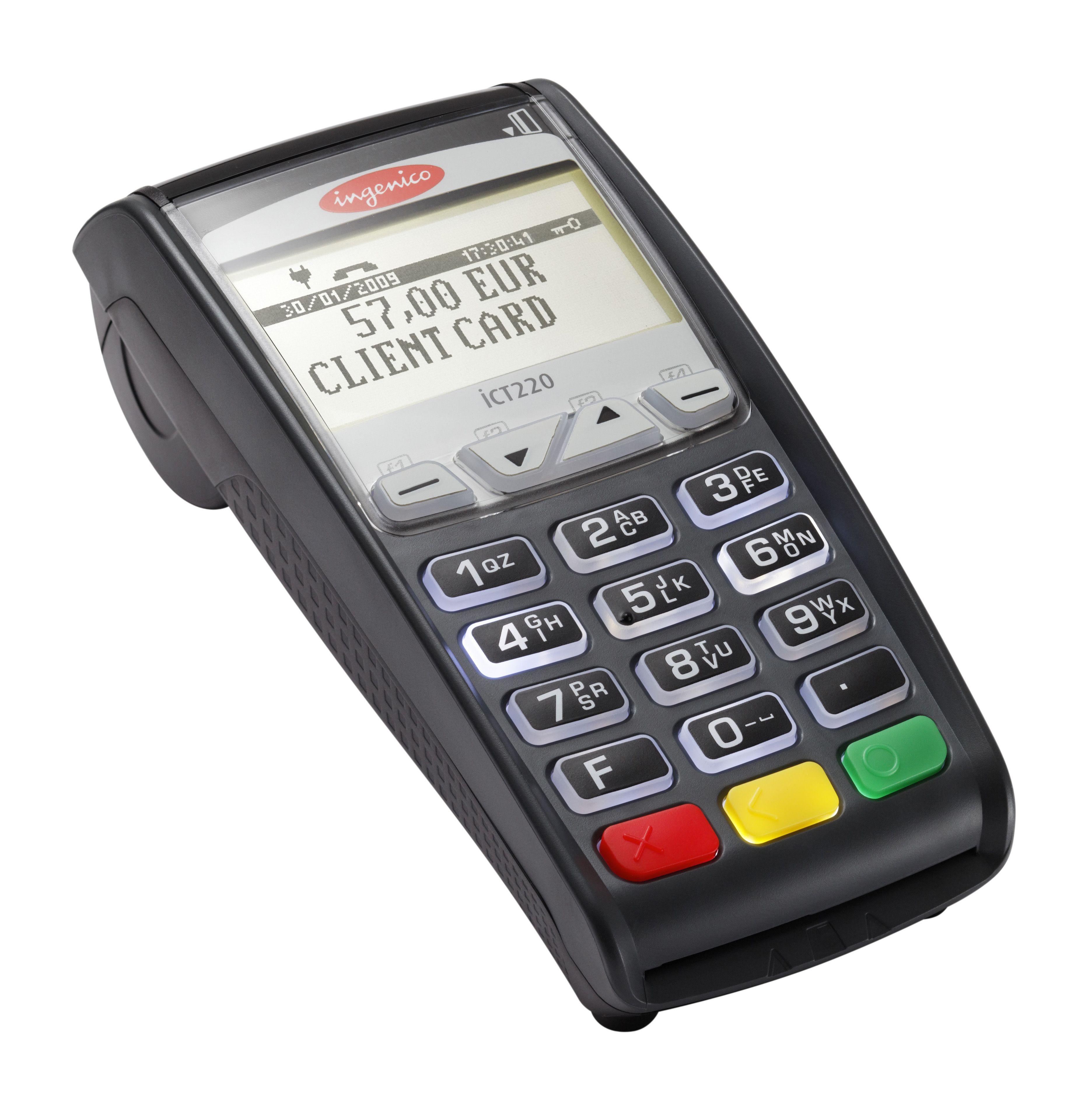 Ingenico ict series card reader