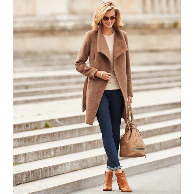 Image 60 Wool Coat Anne Weyburn Coats For Women Fashion